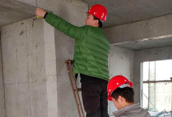 构件截面尺寸检测