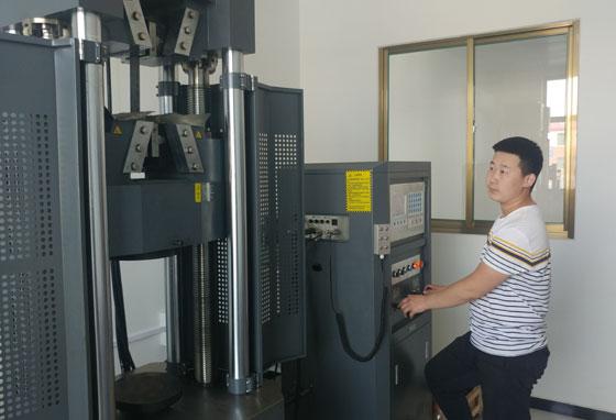 钢材抗拉强度检测
