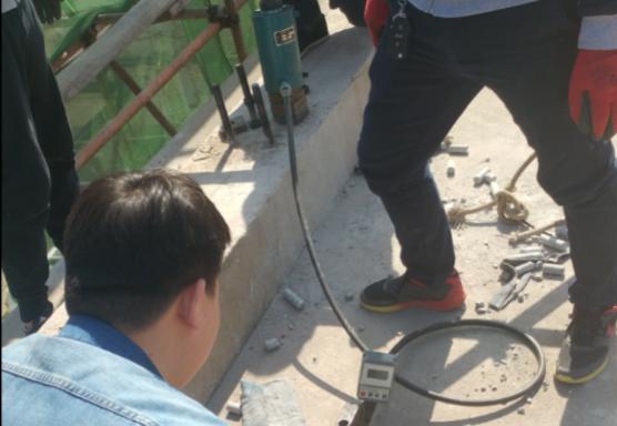 地脚螺栓检测