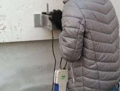 保温板粘结强度检测