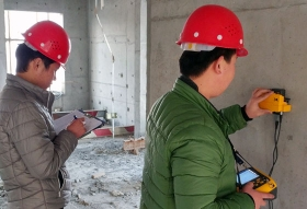 沧州钢筋间距及保护层厚度检测